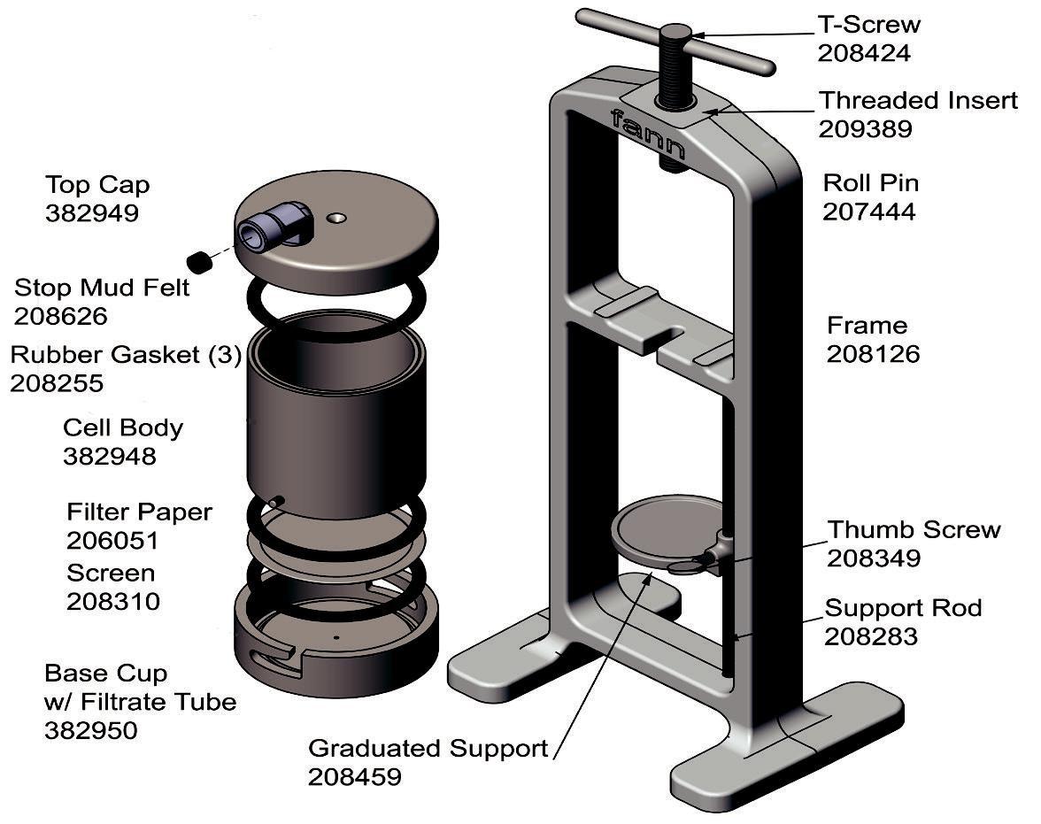 Baroid Filter Press
