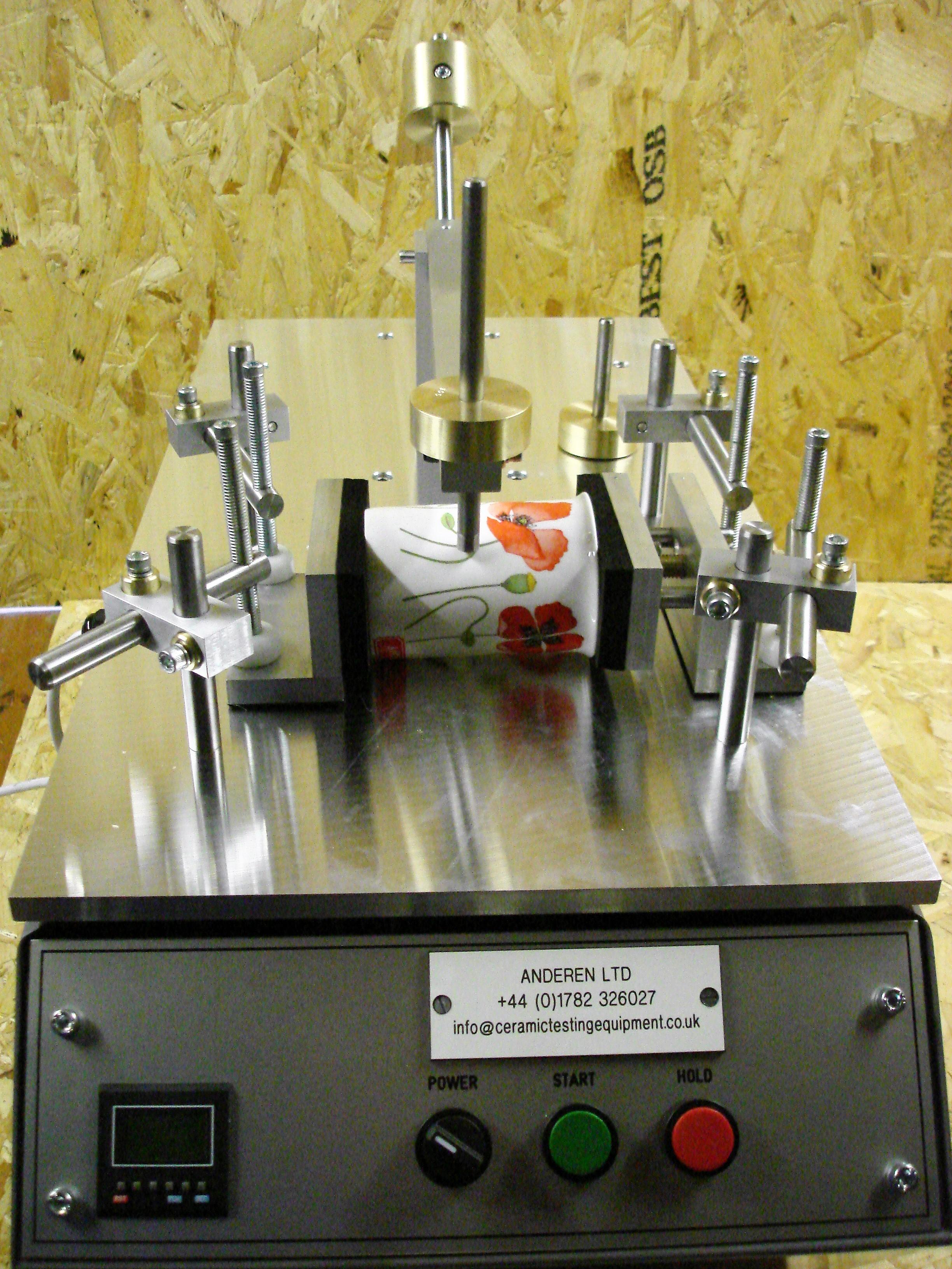Pin Abrasion Tester Ceramic Test Equipment For Abrasion